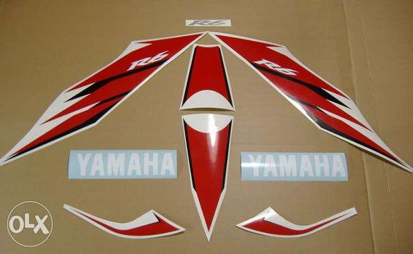 Стикери Ямаха Лепенки Yamaha YZF-R6 2006