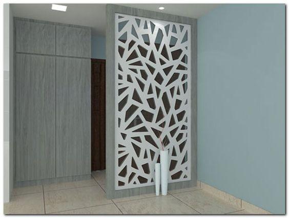 Panouri decorative traforate din lemn / MDF / alucobond / PVC