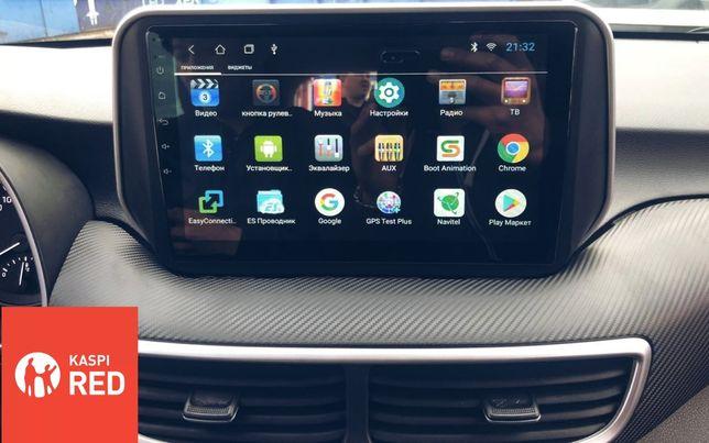 Автомагнитола Андроид Hyundai Santa FE/Tucson DSK/RedPower Autoline
