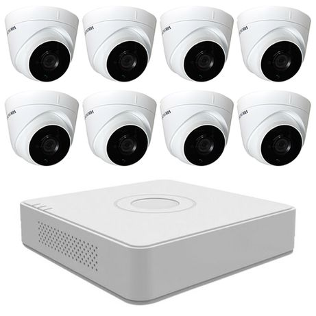 Sistem supraveghere video 8 camere 2MP Hikvision, FulHD