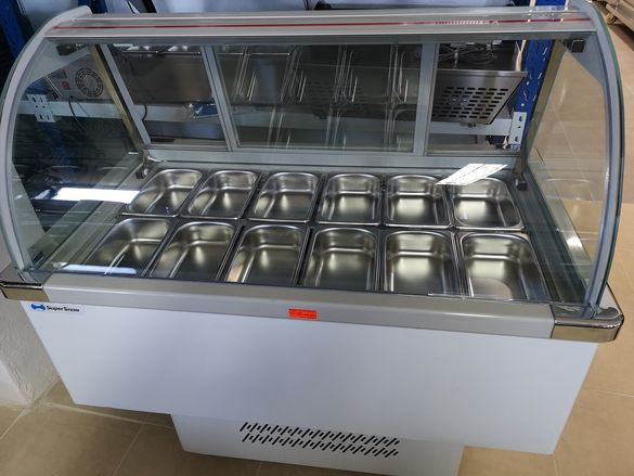 Хладилна салатна витрина 2 модела Чисто нови