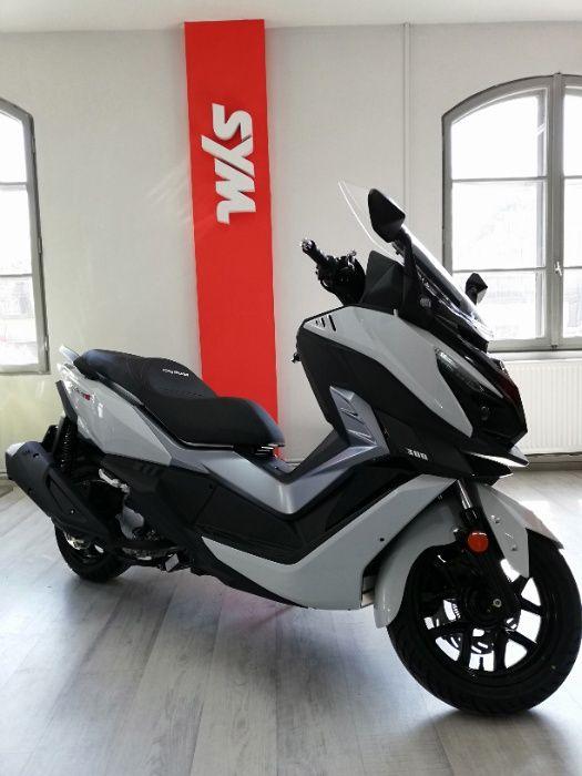 Maxi Scuter SYM Cruisym 300, 2021, E5, ABS + TCS, RABLA, RATE!