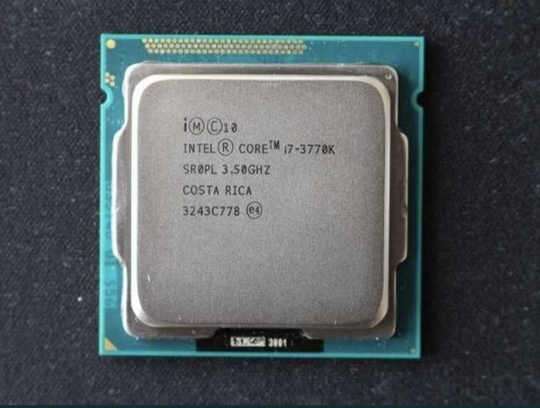 Procesor intel i7 3770k