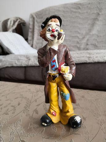 Clown figurina de ceramica din Germania, 20 cm
