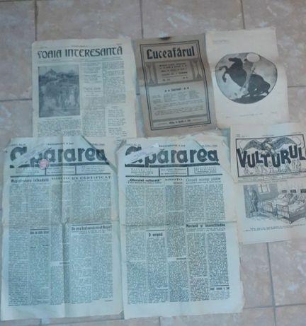 Vand ziare si reviste vechi