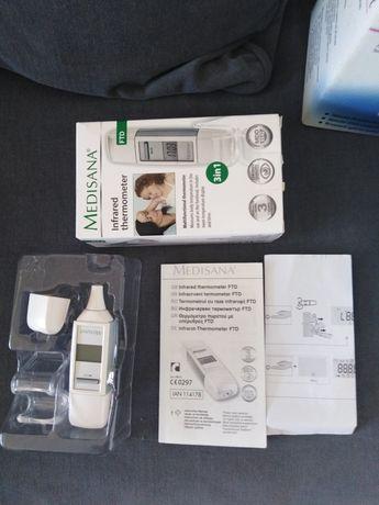 Термометър за ухо и чело