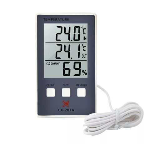 Улично-комнатный термометр-гигрометр