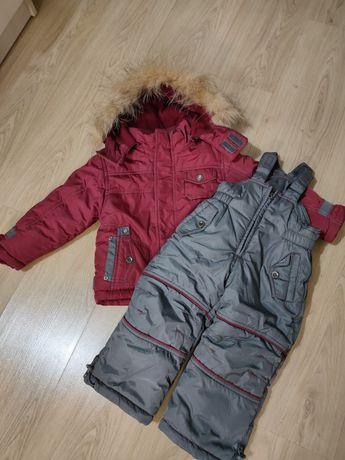 Зимний комбинезон с курткой.
