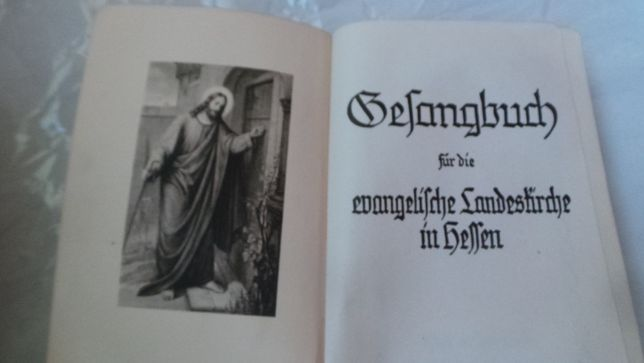 Carte bisericeasca/religioasa/de rugaciuni limba germana 1927