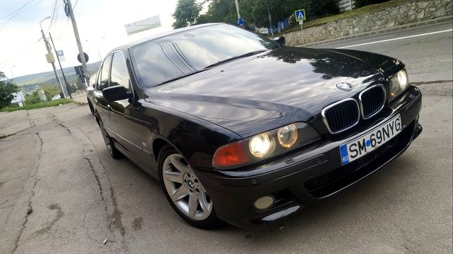 BMW E39 530D Facelift, Inm Ro 2020,Fiscal și revizii la zi, piele,navi