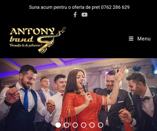 Antony Band. Formatie Nunta, Botez, Petreceri private