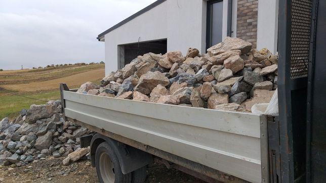 Granit spart pentru drum ,curte , gabioane , ornamental etc