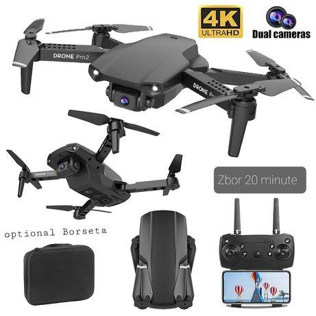 Mini drona cu camera 4K,Zbor 20 min,Distanta 100 Metri,acumulator,Noua