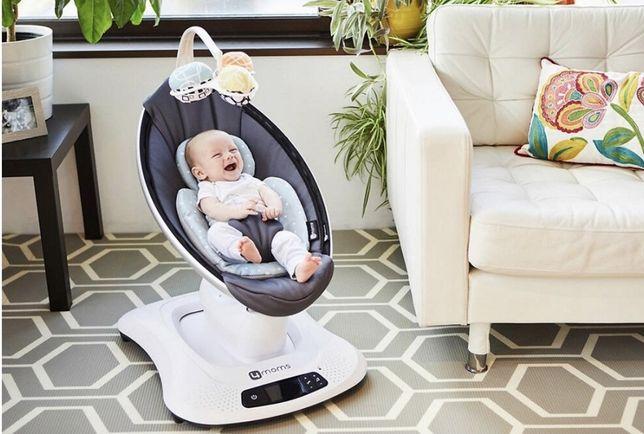 Кресло-качалка 4moms - MamaRoo4 Grey Mesh 4.0