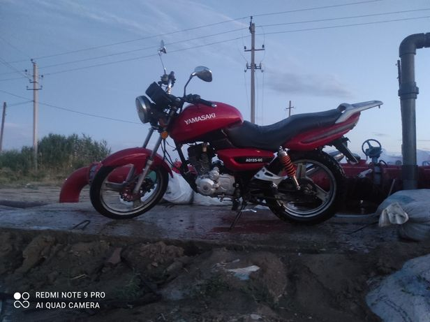 Мотоцикл Yamasaki почти идеальное состояние