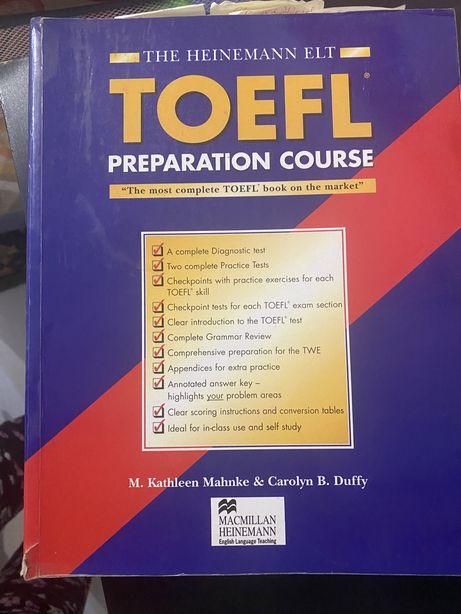 TOEFL preparation. Книга по Подготовке к эзамену TOEFL.