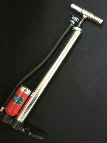 Ручной напольный насос с манометром