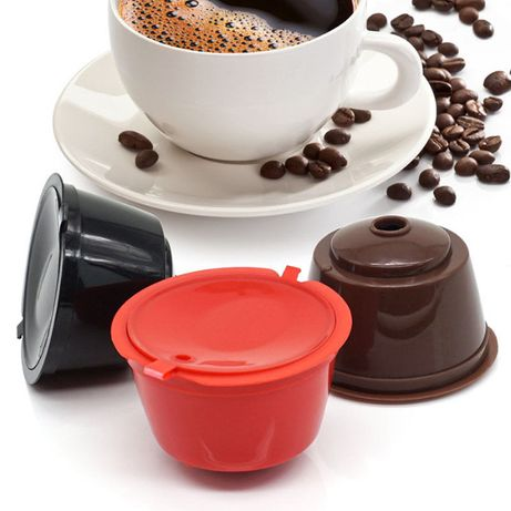 Капсули за кафе многократна употреба Dolce Gusto/Долче густо - подарък