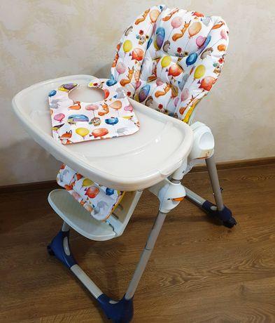 Чехол на детский стульчик для кормления Chicco Polly, Tatamia ,Justin