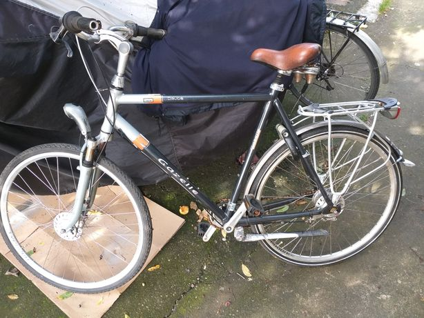 Bicicleta Gazzele si Usa lemn sticla si geamurii