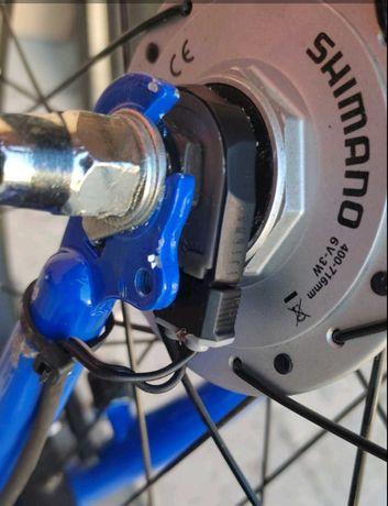 "Нова алуминиева капла 20"" с динамо главина SHIMANO."
