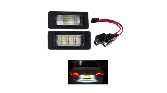 Lampi LED nr numar inmatriculare pentru Audi A4 B8 A5 Q5 TT Passat 5D