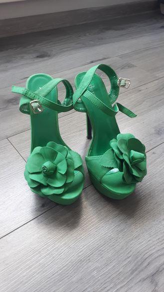 Дамски сандали/платформа