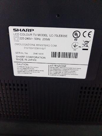 SHARP lc70le835e за части