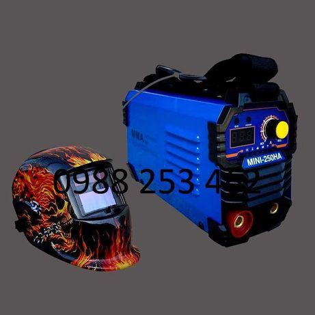 250А МАХ Мини 2,5 кг Електрожен инверторен с дисплей НА