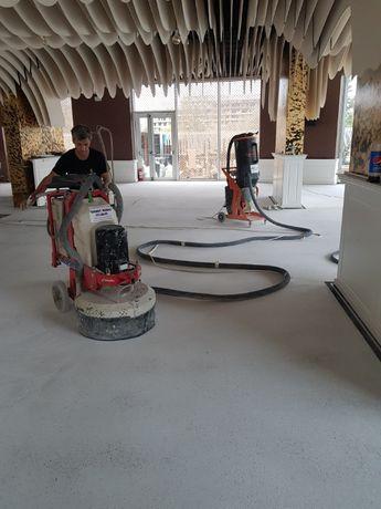 Lustruire șlefuire beton