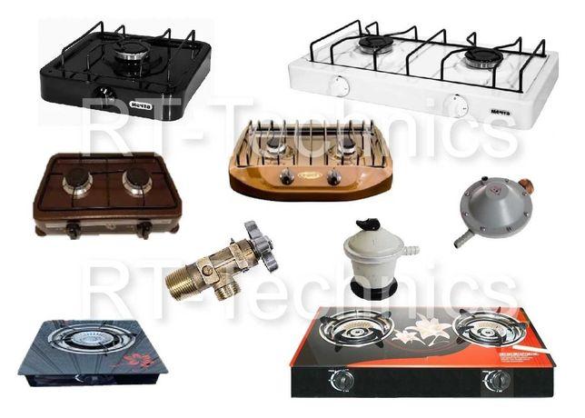 Газовые плиты и комплектующие Мечта, Sess, Gefest, Happy home.