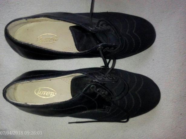 Pantofi femei, mărimea 39,noi,design modern, culoare neagra