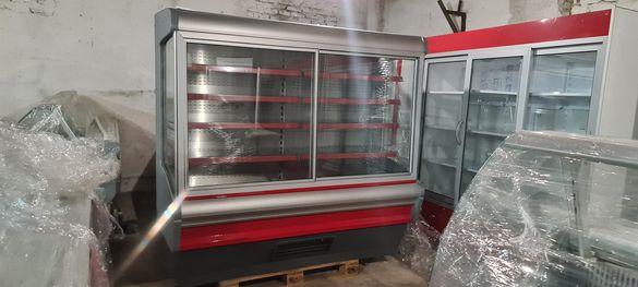 Крайстенна хладилна витрина 2 Метра