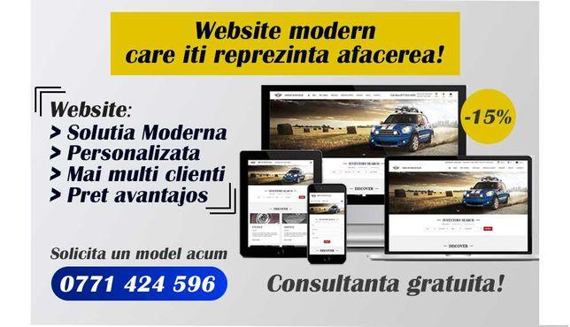 Creare Site web Modern și Profesional la cheie   Solicită oferta acum!