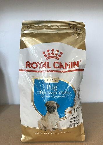 Royal Canin Pug Puppy 1.5кг / Специализирана храна за Мопс Джуниър гр. Пловдив - image 1