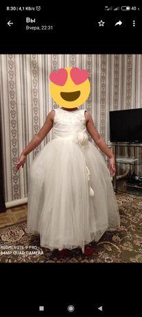 Белое платье за 10000тг