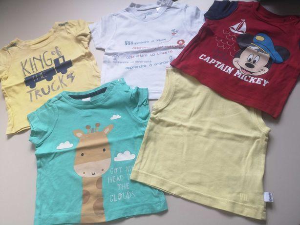 Set 5 tricouri marimea 68