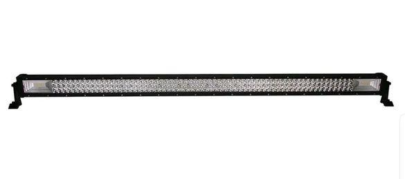 """7D Мощен 52"""" LED BAR 675W + подарък окабеляване лед лайт бар"""
