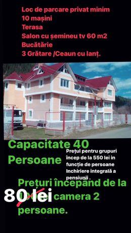 Cazare Cabana Hotel Vilă Pensiune Ceahlau Durau De la 80Lei camera!