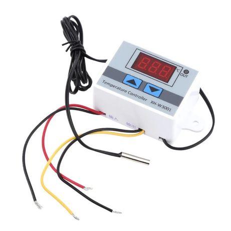Цифровой регулятор температуры XH - W3001, W3002 на 220 Вольт