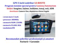 "Navigator GPS Auto 9""HD+PARASOLAR, harti iGO Primo setari: TIR/Camion"