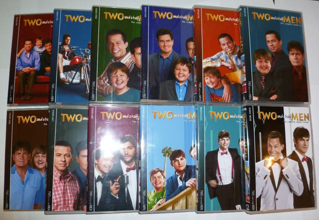 Two and a Half Men-Doi barbati si jumatate 12 SEZONAE DVD