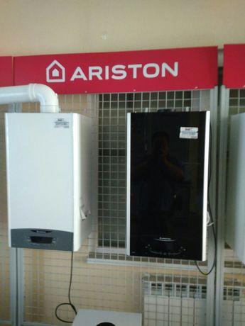 Газовый котёл компании Ariston производство ИТАЛИЯ.
