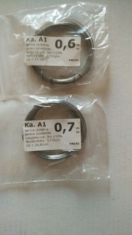 Fir Kanthal A1 0.6mm, 0.7mm si diferite Atomizoare Servisabile