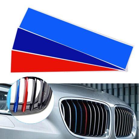 BMW стикери предна решетка бъбреци M power E36 E46 E90 E92 E60 E39 M3