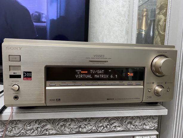 Av receiver Sony V555ES премиальная система