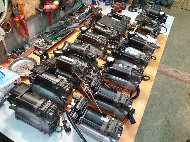 Reparare compresor suspensie perne aer Audi A6 A7 A8 Bmw F11 Q7 07 X5