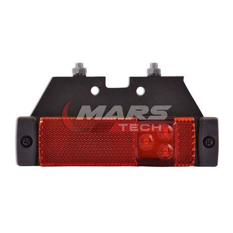 Еврогабарит висящ 24V диоден Prostar-PSS3 червен