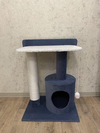 Домик для кошек когтеточка