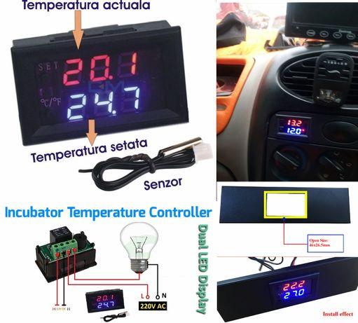 Termostat digital, -50/+110 12V termoregulator regulator temperatura